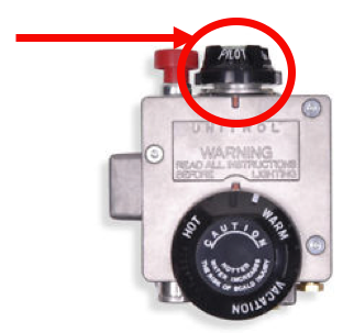for electric water heaters, proceed to the electrical panel and turn off  the breaker supplying power to the water heater  in older homes you may  have to